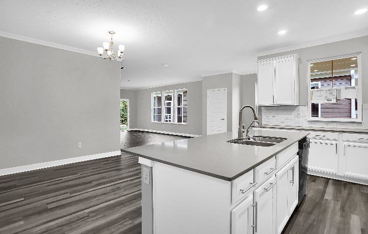Kitchen featured in the Auburn By Lennar in Indianapolis, IN
