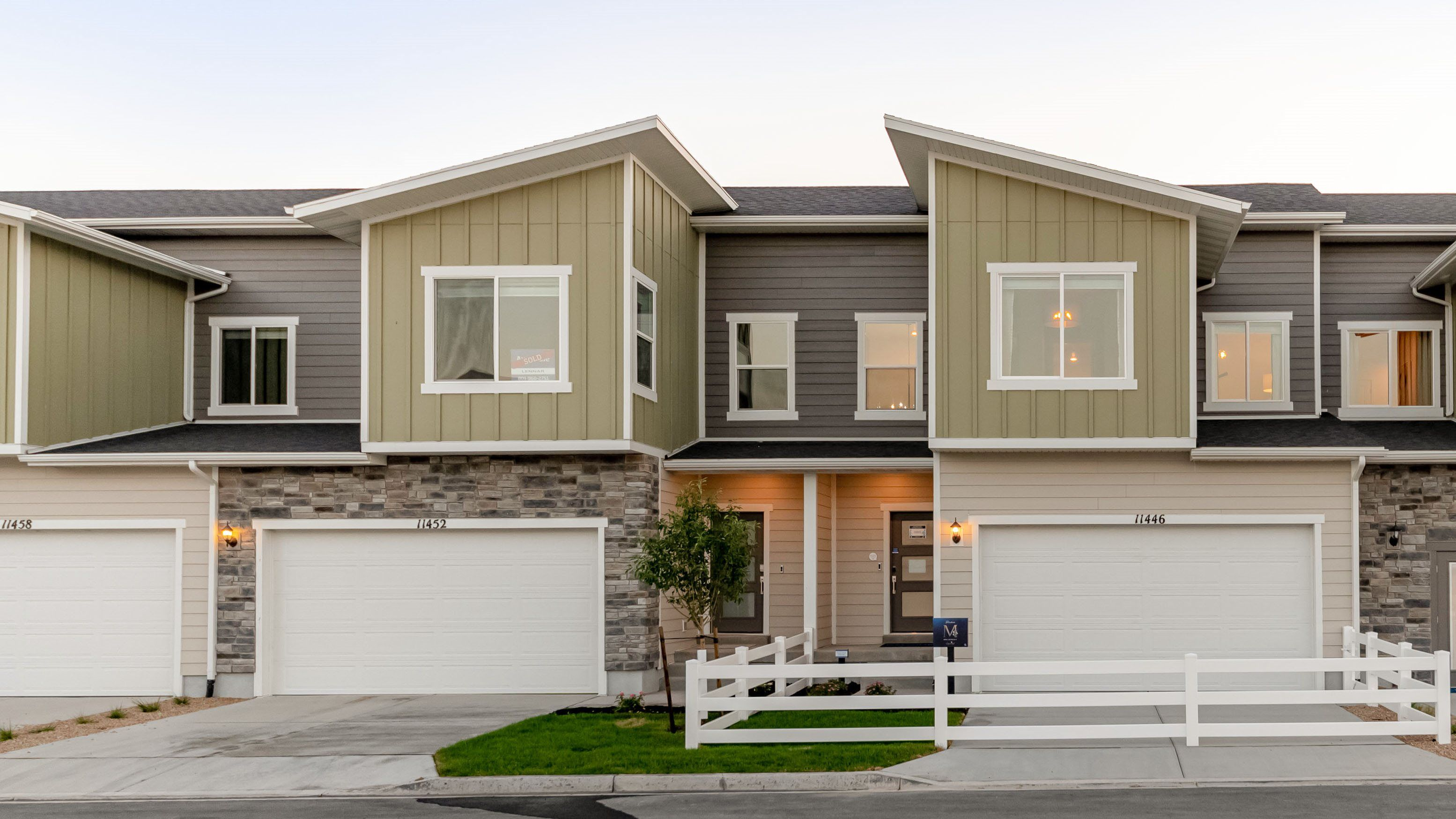 Exterior featured in the Residence M By Lennar in Salt Lake City-Ogden, UT