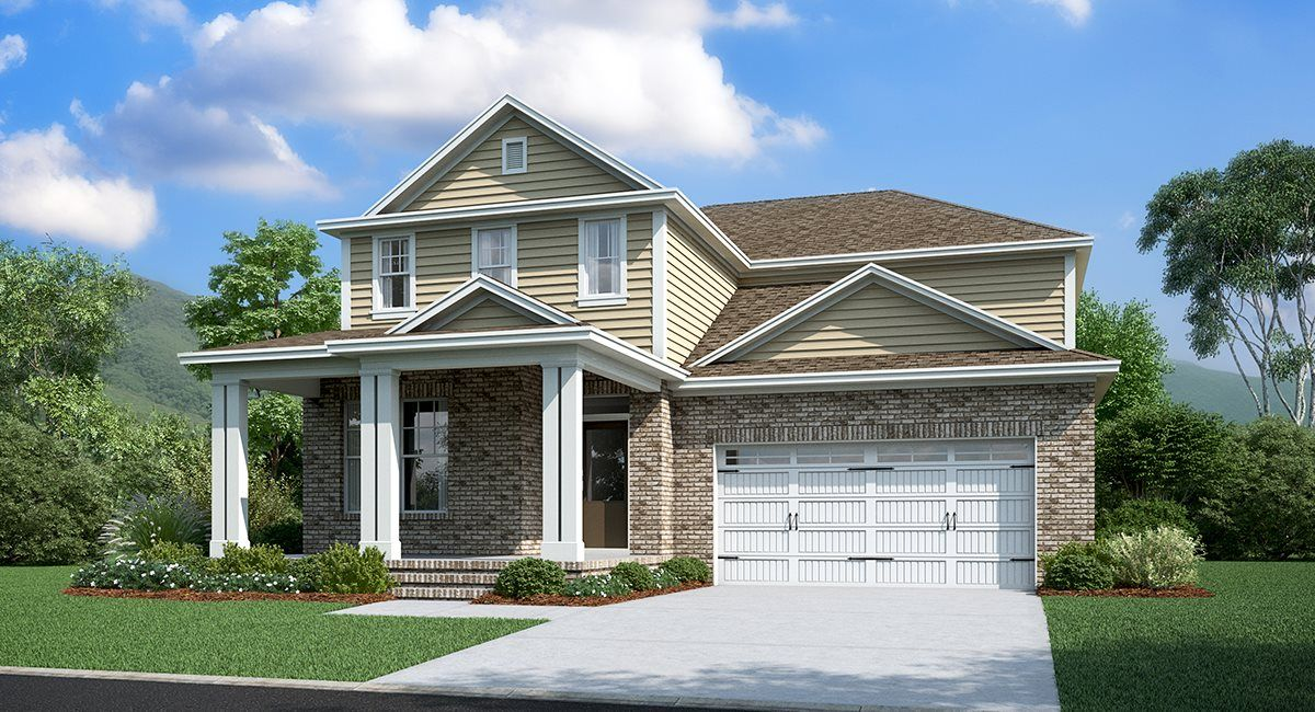 Exterior featured in the Percy By Lennar in Nashville, TN