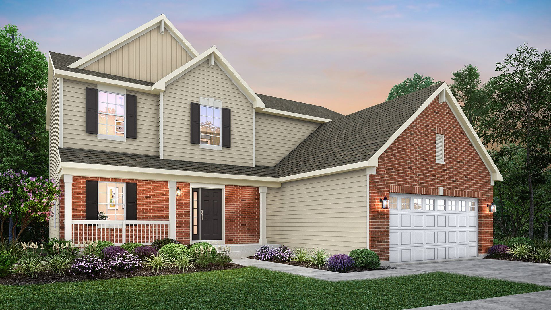 Exterior featured in the Victoria ei By Lennar in Gary, IN