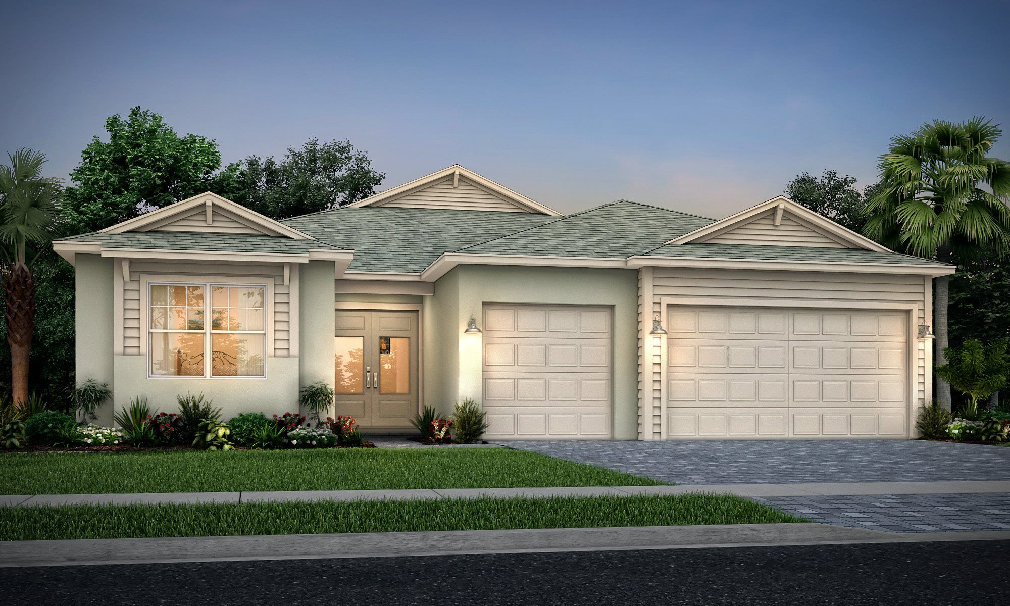 Exterior featured in the Summerville II By Lennar in Martin-St. Lucie-Okeechobee Counties, FL