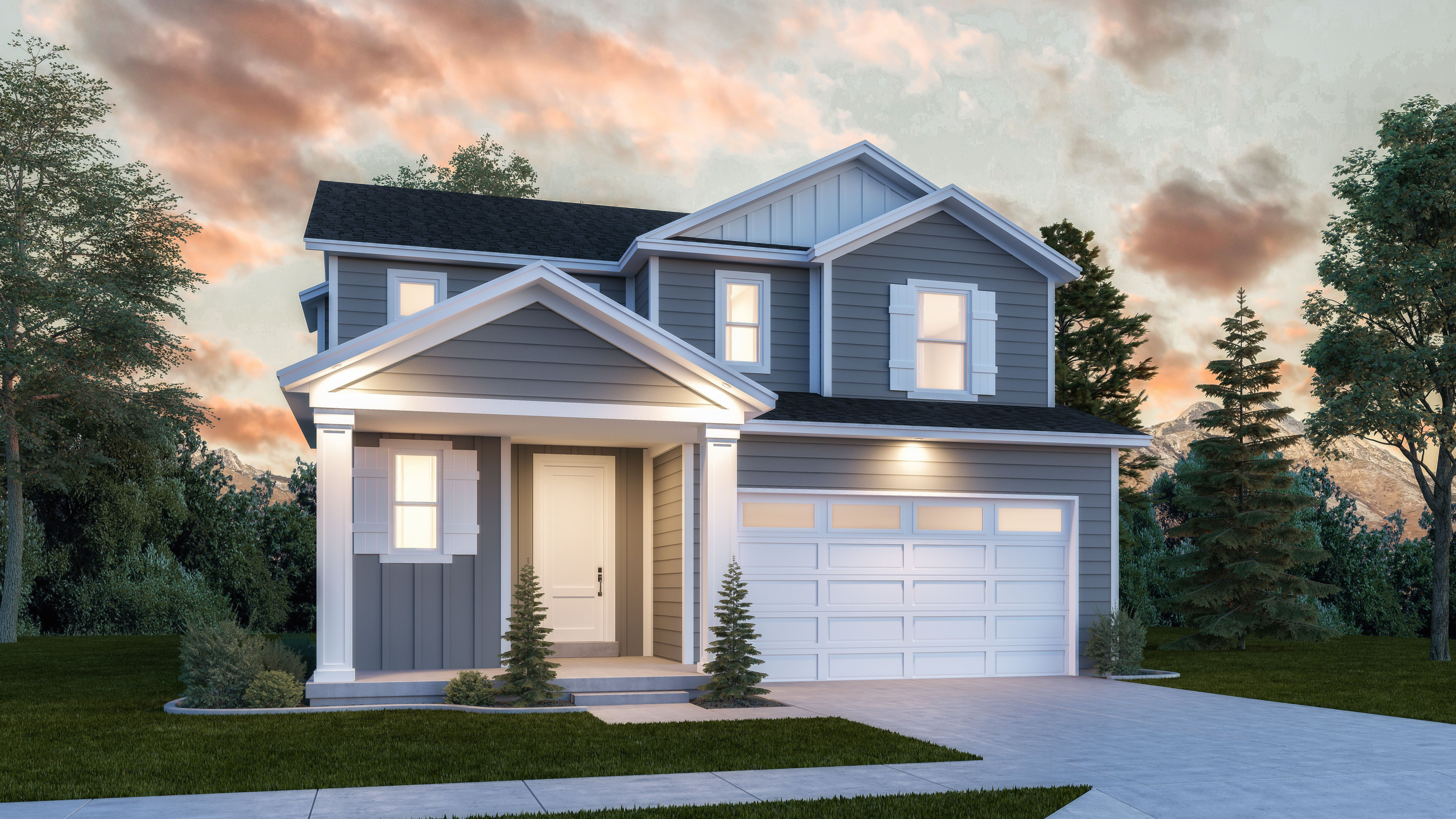 Exterior featured in the Jackson By Lennar in Provo-Orem, UT