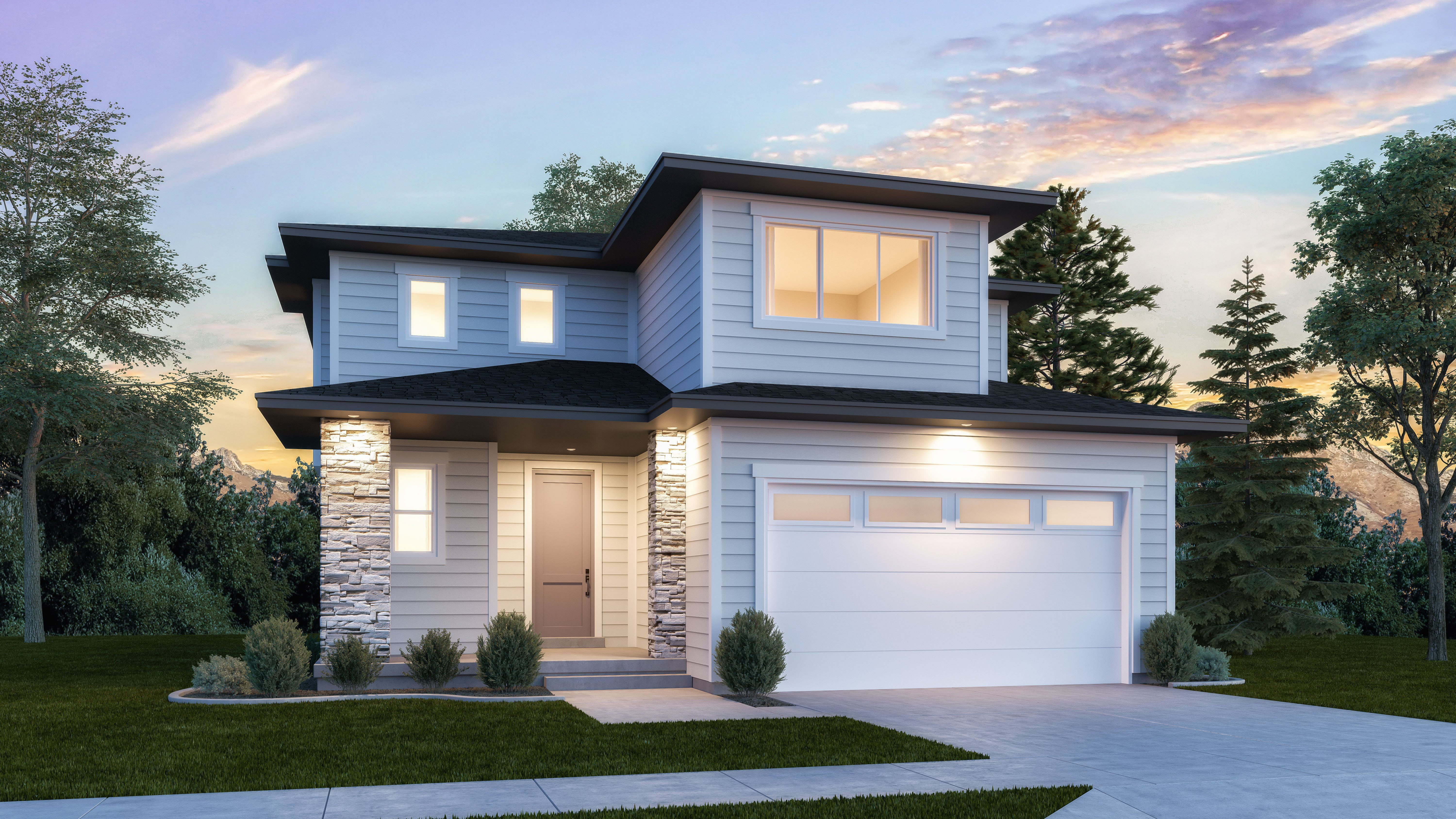 Exterior featured in the Stratton By Lennar in Provo-Orem, UT