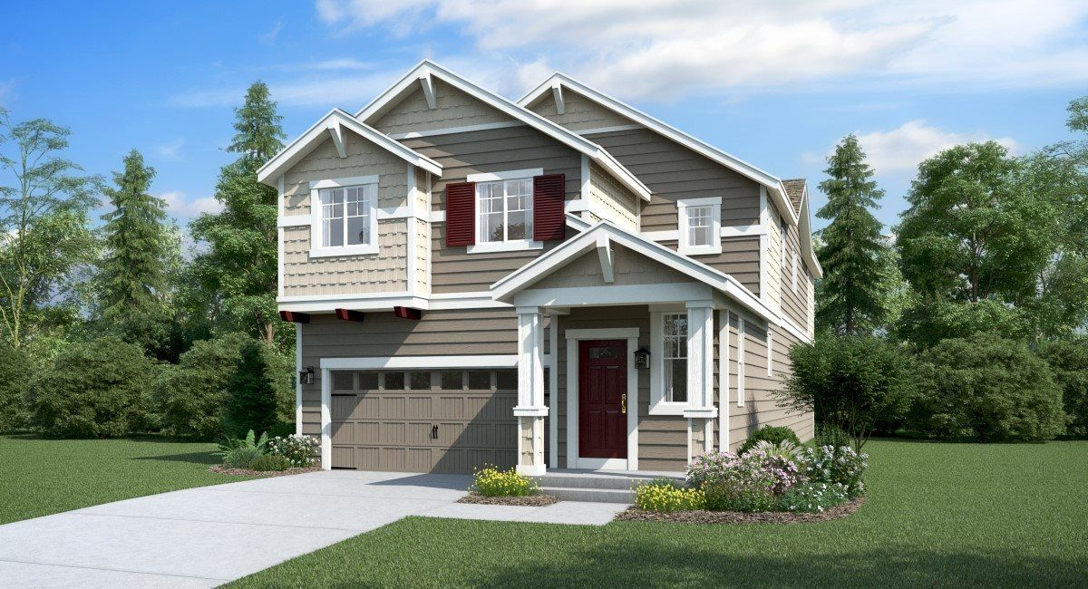 Exterior featured in the Sequoia II By Lennar in Seattle-Bellevue, WA