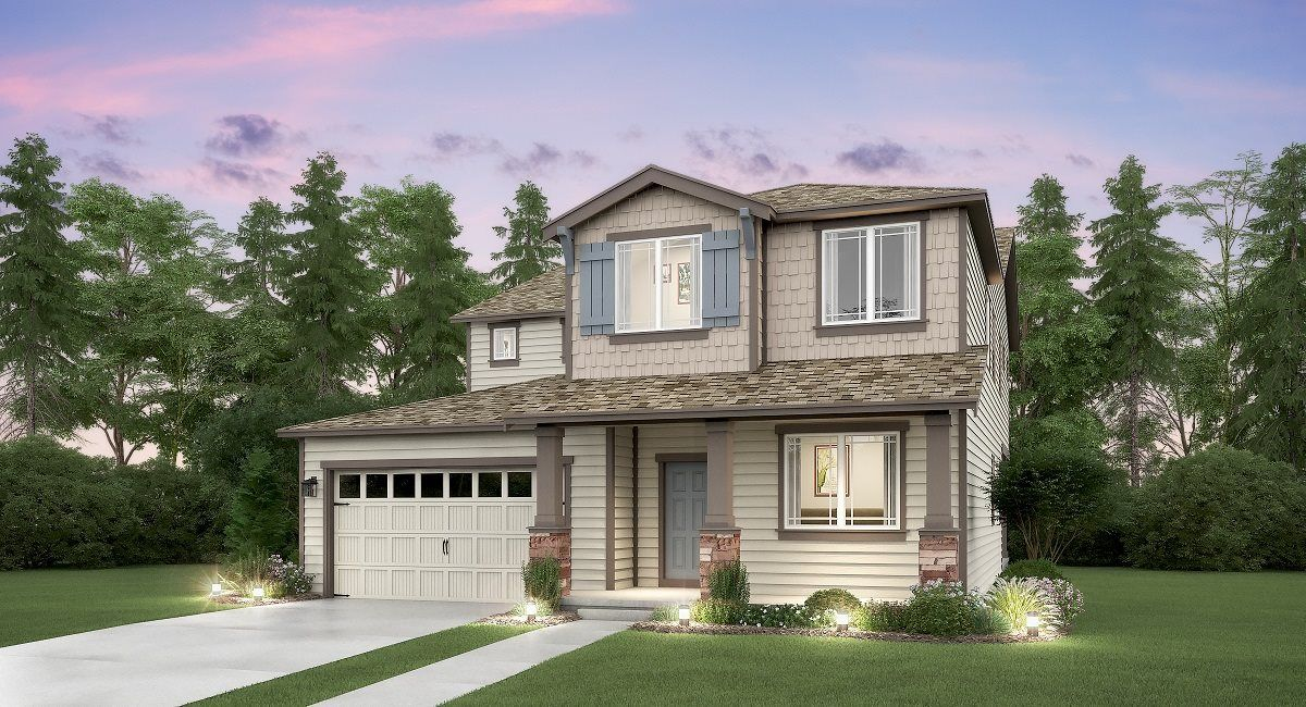 Exterior featured in the Gregory By Lennar in Seattle-Bellevue, WA