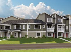 Ava - Emerald Pointe Townhomes: Puyallup, Washington - Lennar