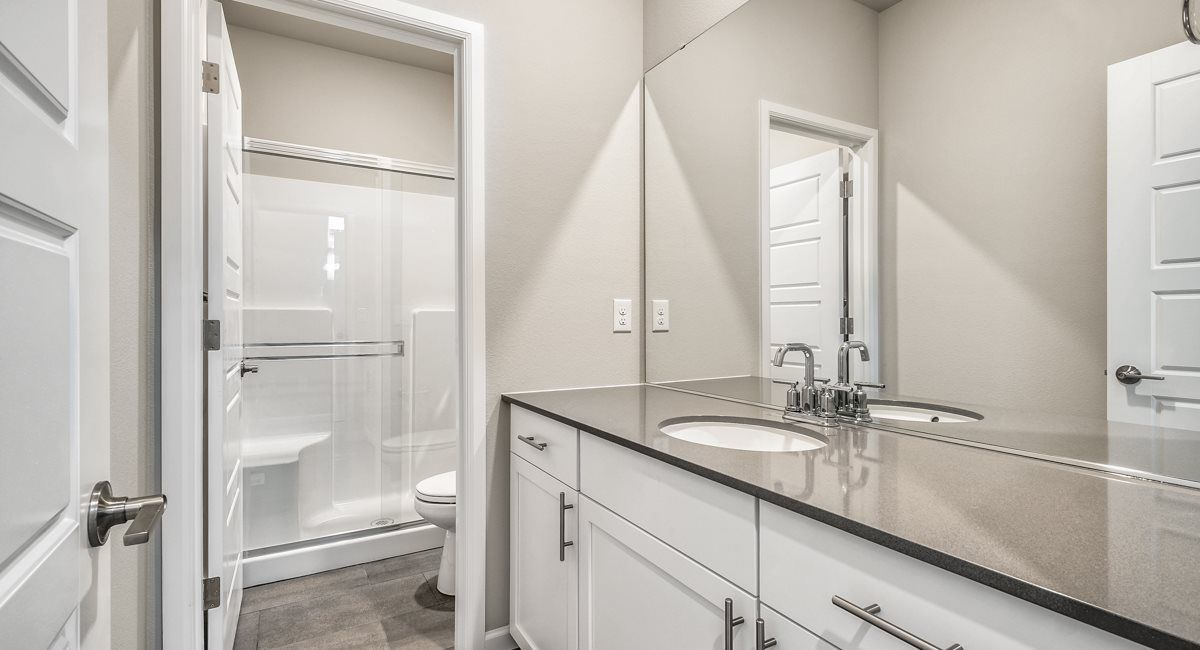 Bathroom featured in the Camano NextGen, Village By Lennar in Seattle-Bellevue, WA