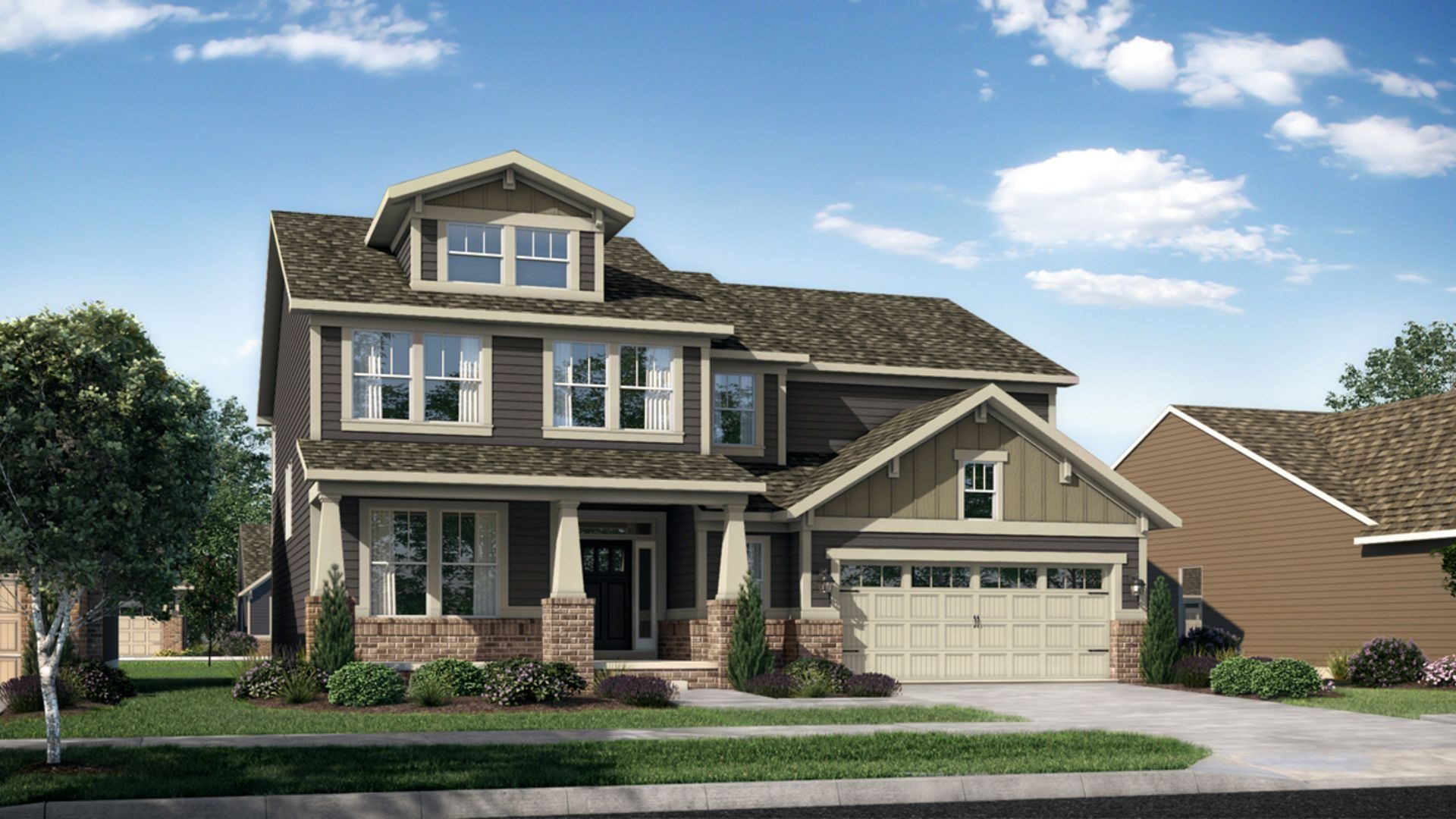 Exterior featured in the 2800 By Lennar in Indianapolis, IN