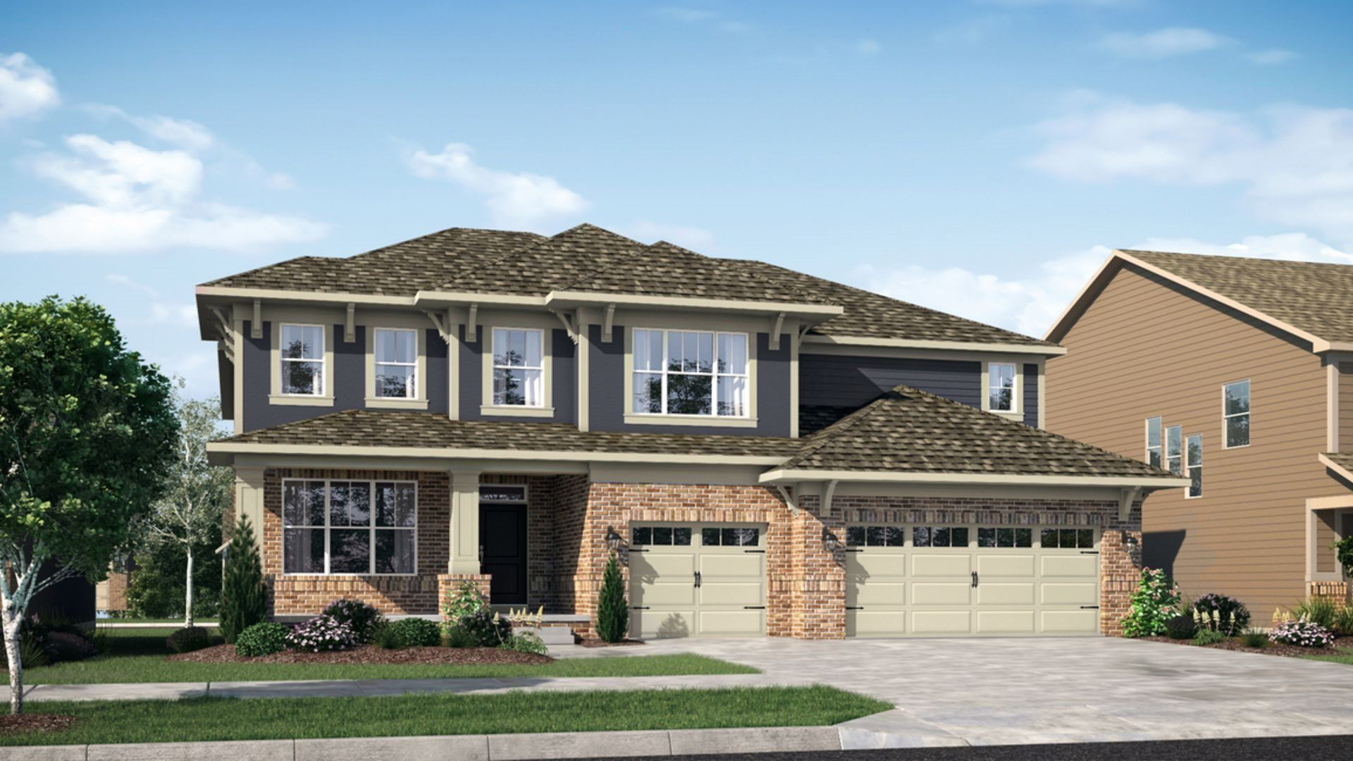 Exterior featured in the 3500 By Lennar in Indianapolis, IN