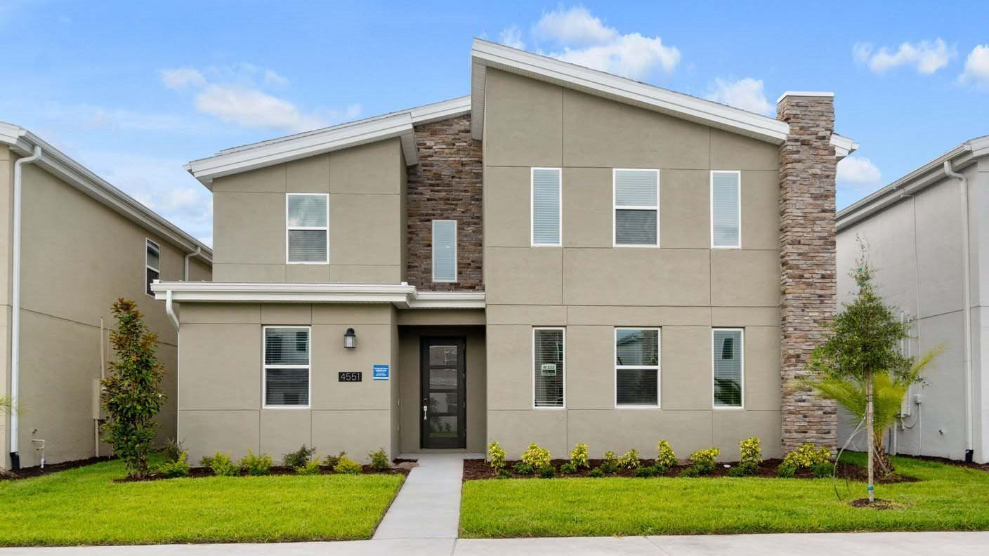 Exterior featured in the Santiago By Lennar in Orlando, FL
