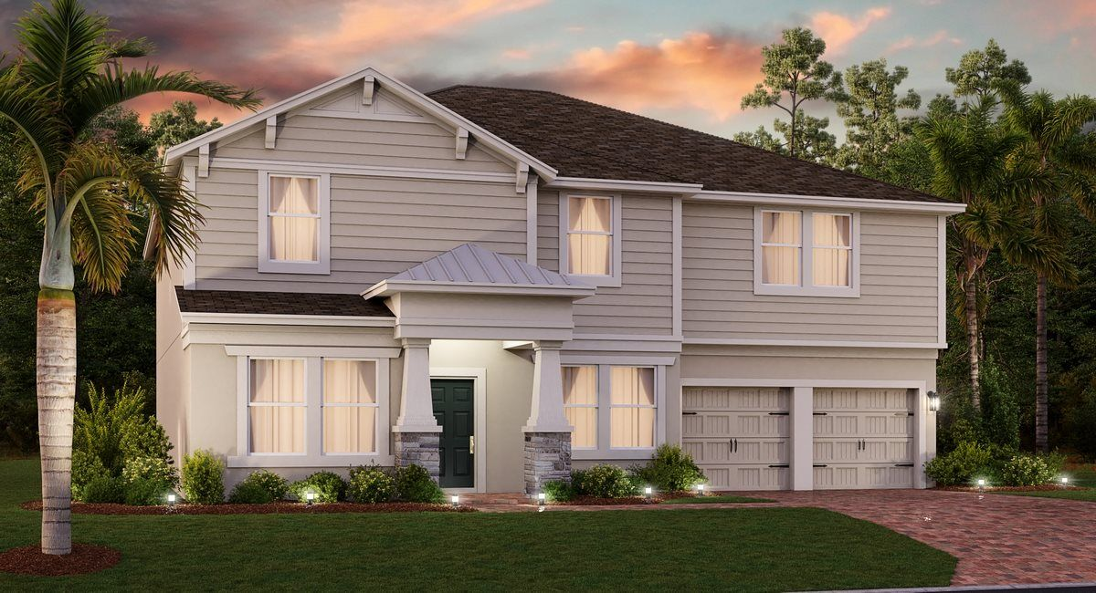 Exterior featured in the Bloomfield By Lennar in Orlando, FL