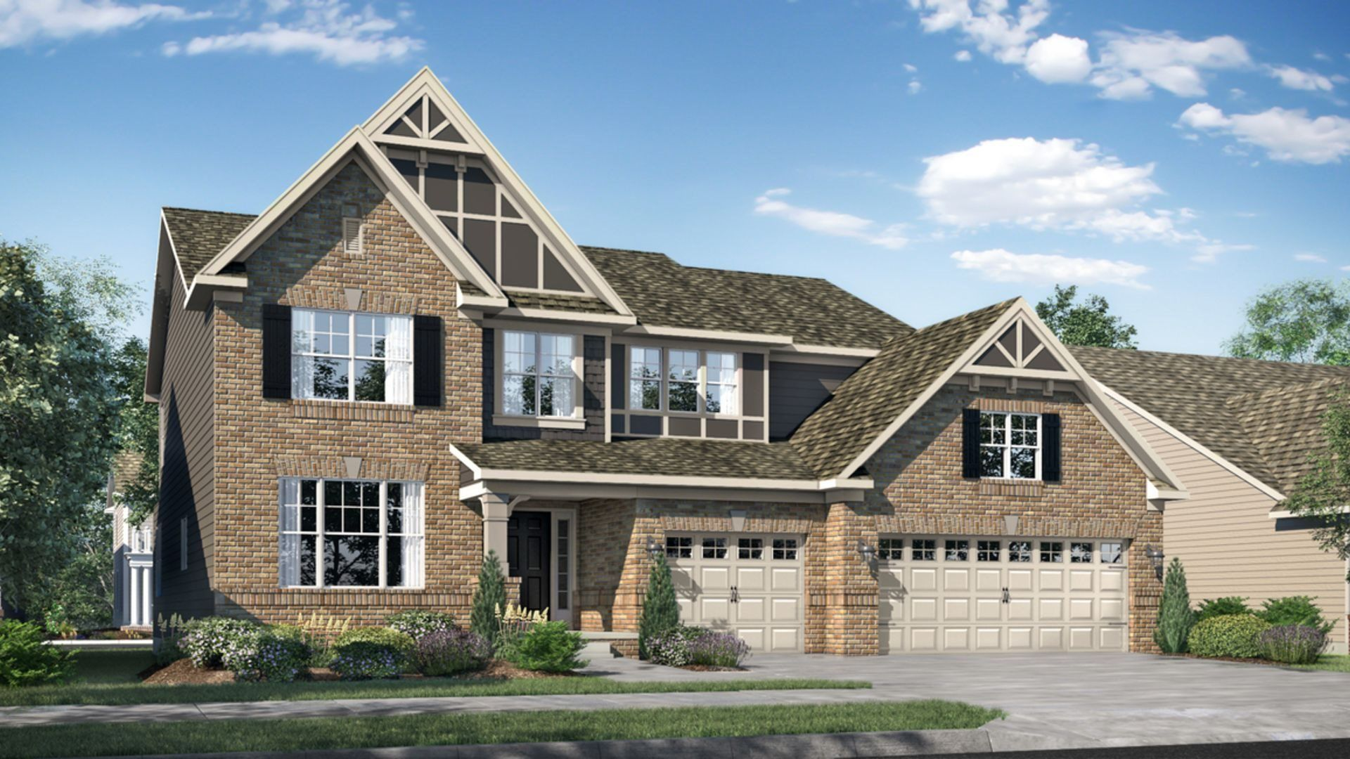 Exterior featured in the 3000 By Lennar in Indianapolis, IN