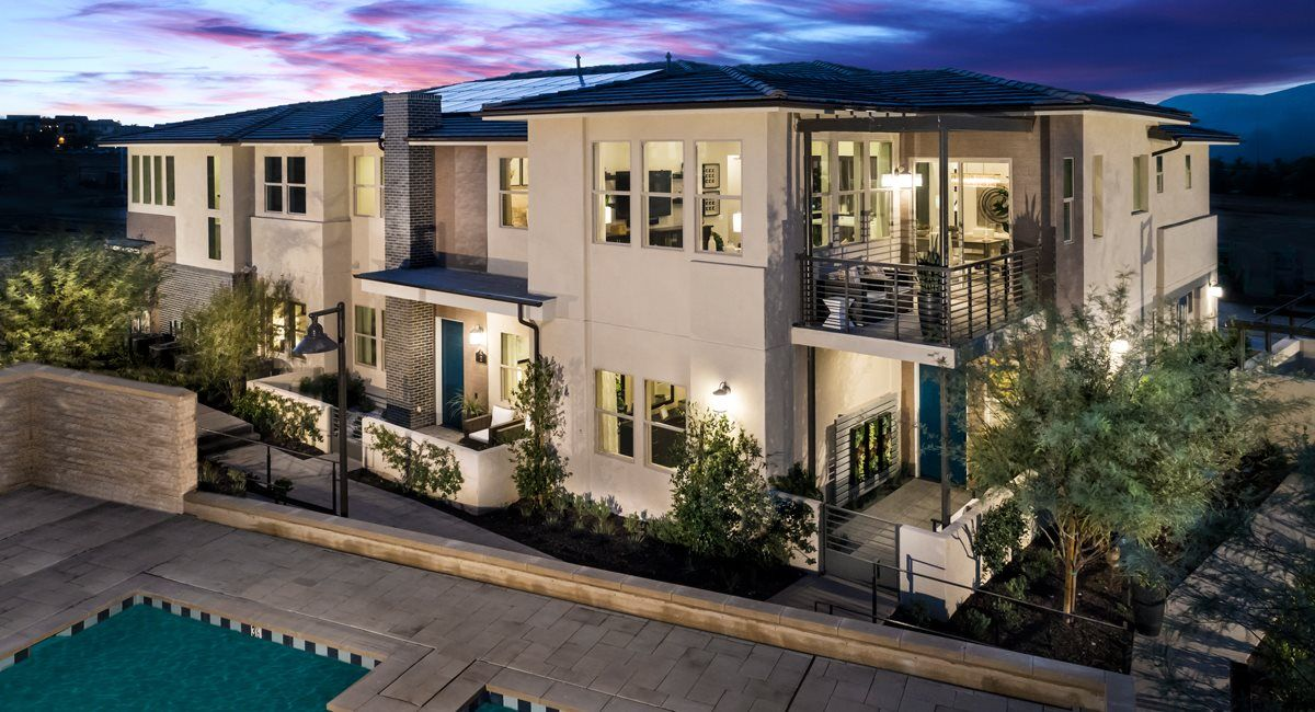 Exterior featured in the Residence 3X By Lennar in San Diego, CA