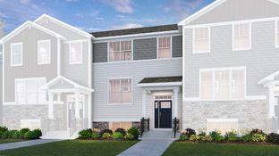 Georgetown ei - Park Pointe - Urban Townhomes: South Elgin, Illinois - Lennar