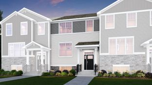 Amherst ei - Park Pointe - Urban Townhomes: South Elgin, Illinois - Lennar