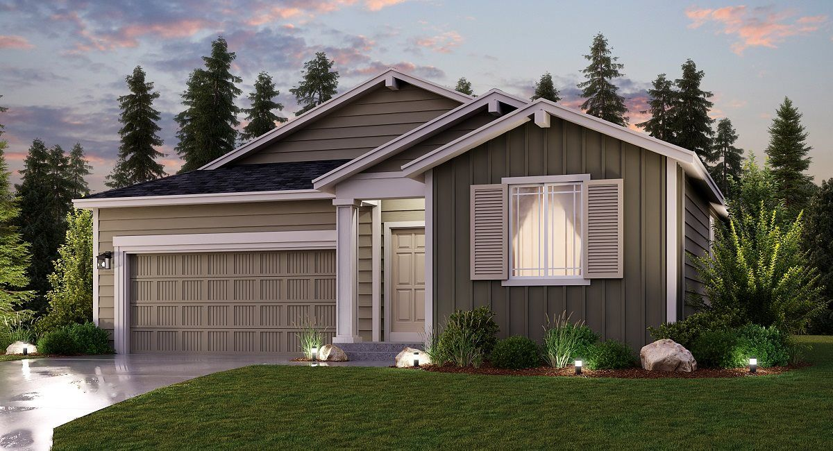 Exterior featured in the Hamilton By Lennar in Olympia, WA