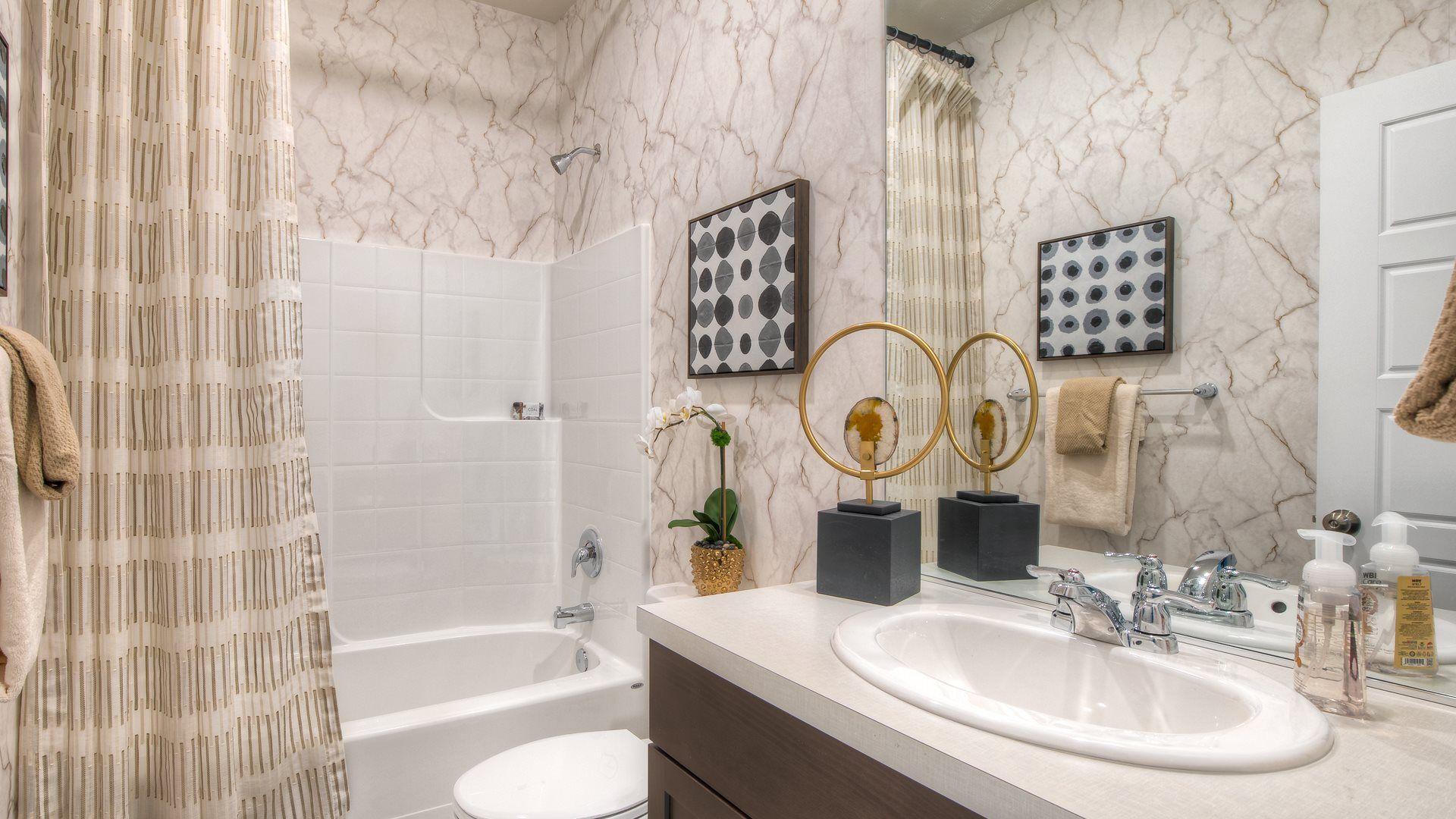 Bathroom featured in the Hamilton By Lennar in Olympia, WA