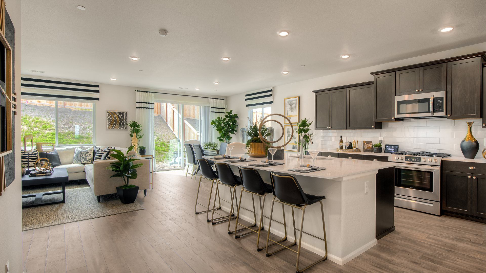 Kitchen featured in the Hamilton By Lennar in Olympia, WA