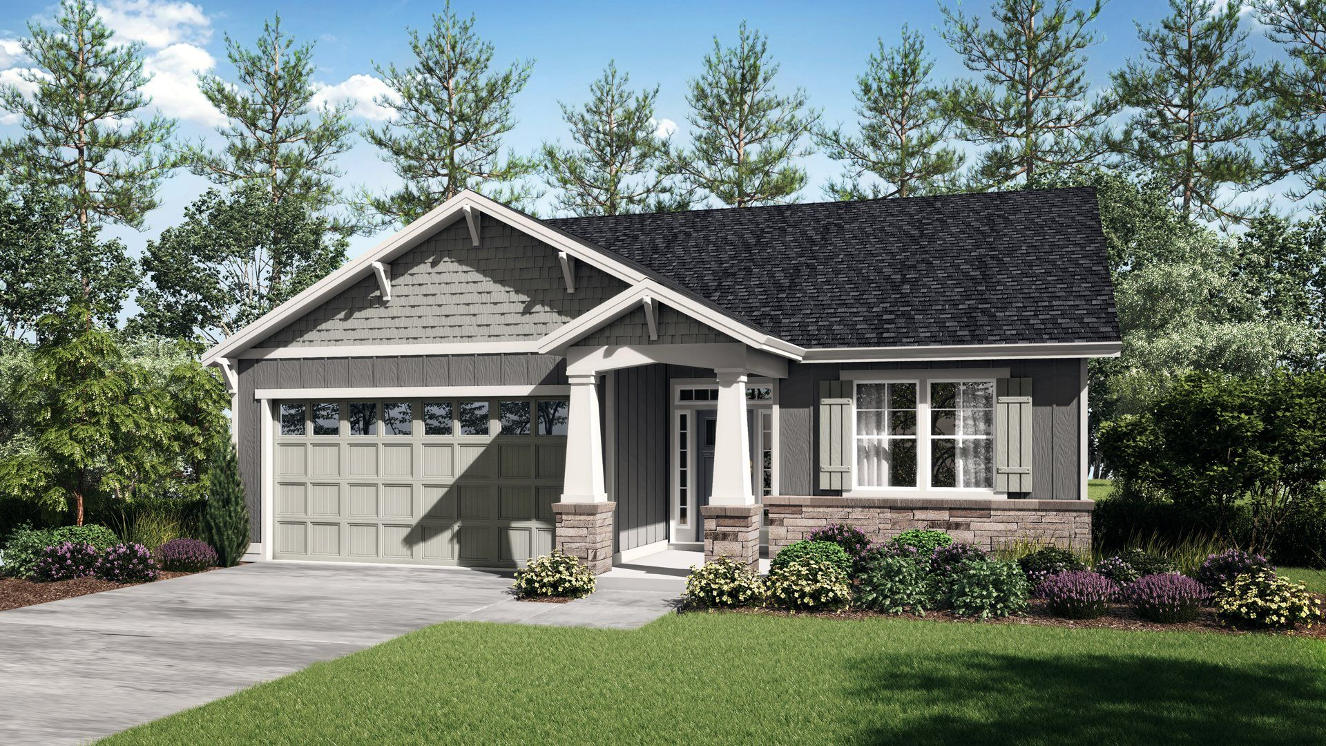 Exterior featured in the Endicott By Lennar in Portland-Vancouver, WA