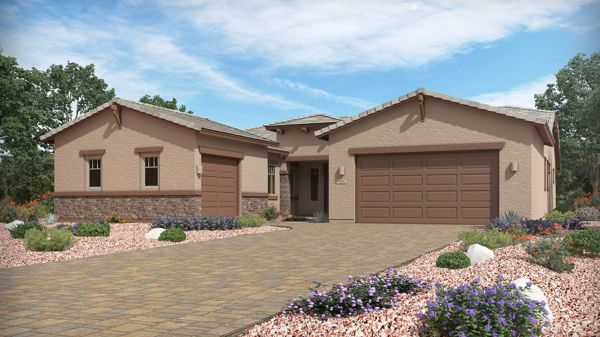 Exterior featured in the Aurora By Lennar in Tucson, AZ