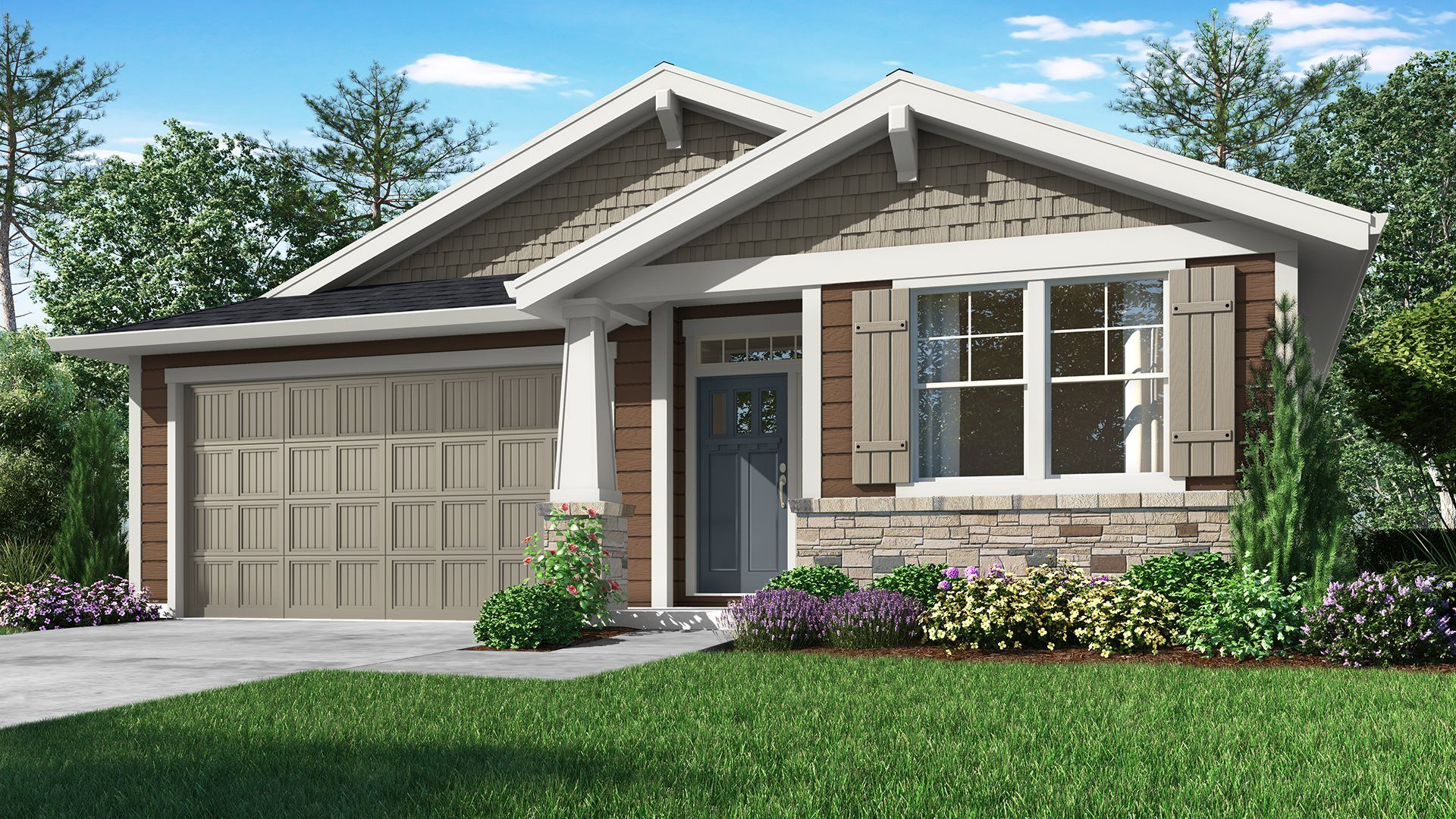 Exterior featured in the Ashley By Lennar in Portland-Vancouver, OR
