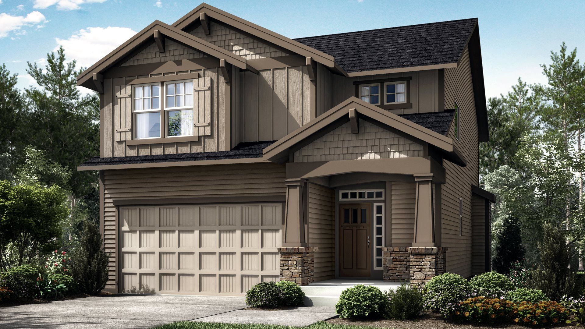 Exterior featured in the Cypress By Lennar in Portland-Vancouver, OR