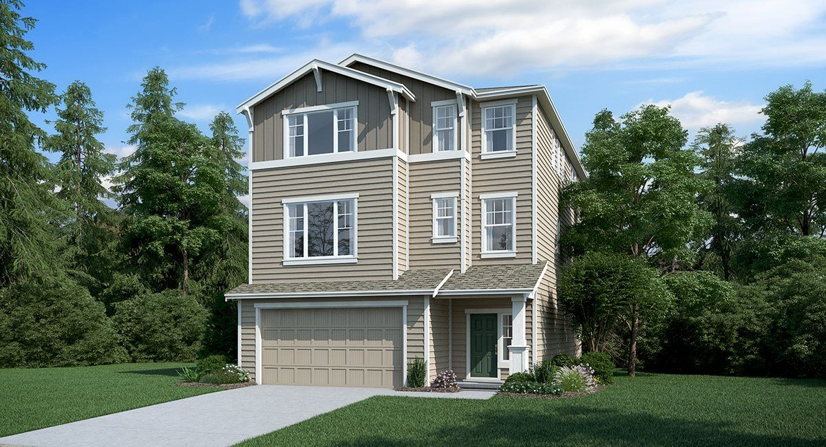 Exterior featured in the Ashland By Lennar in Seattle-Bellevue, WA