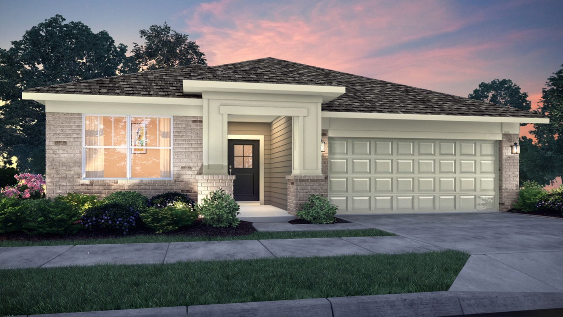 Exterior featured in the Ashbury By Lennar in Indianapolis, IN