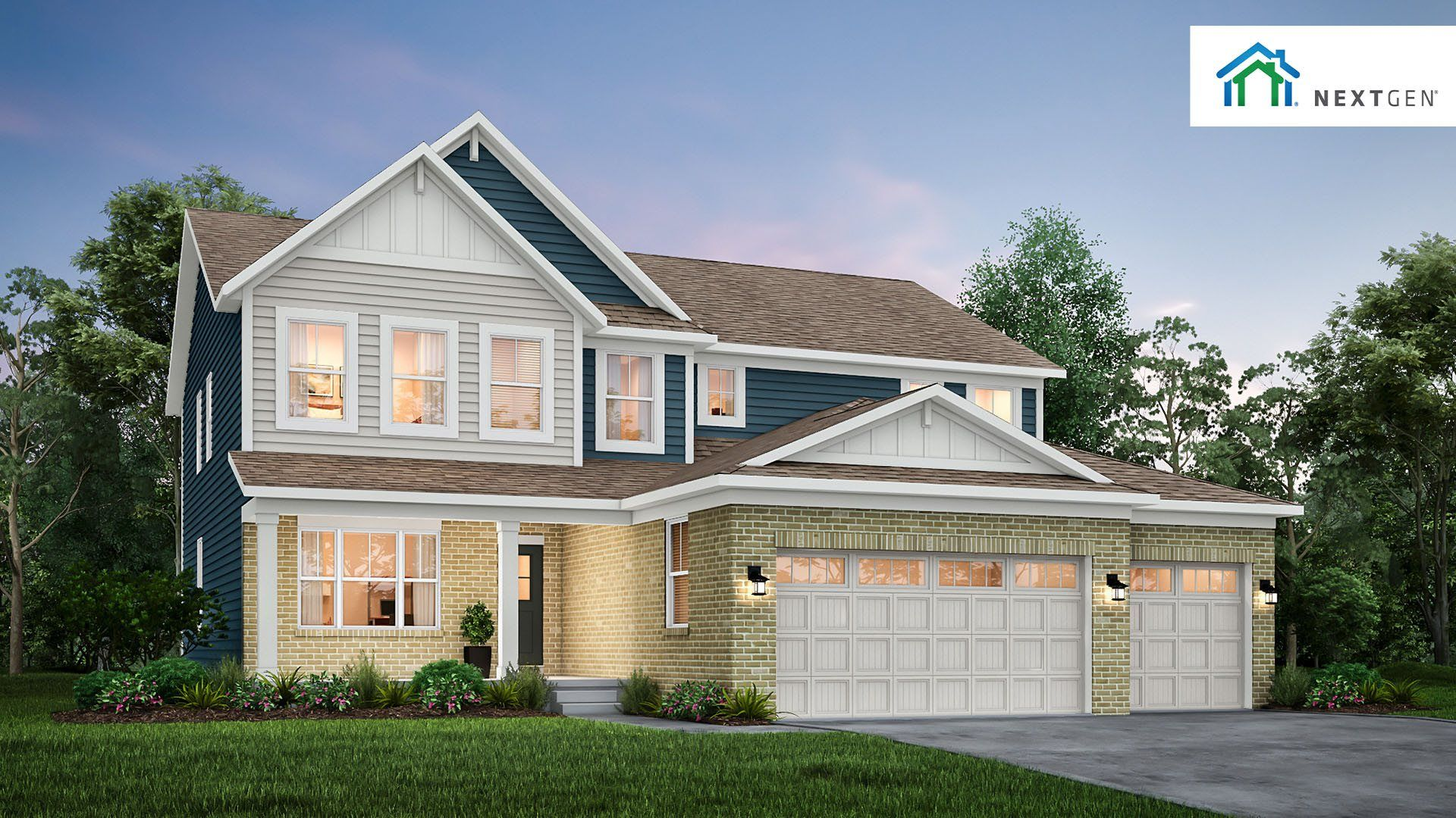 Exterior featured in the Spencer By Lennar in Indianapolis, IN