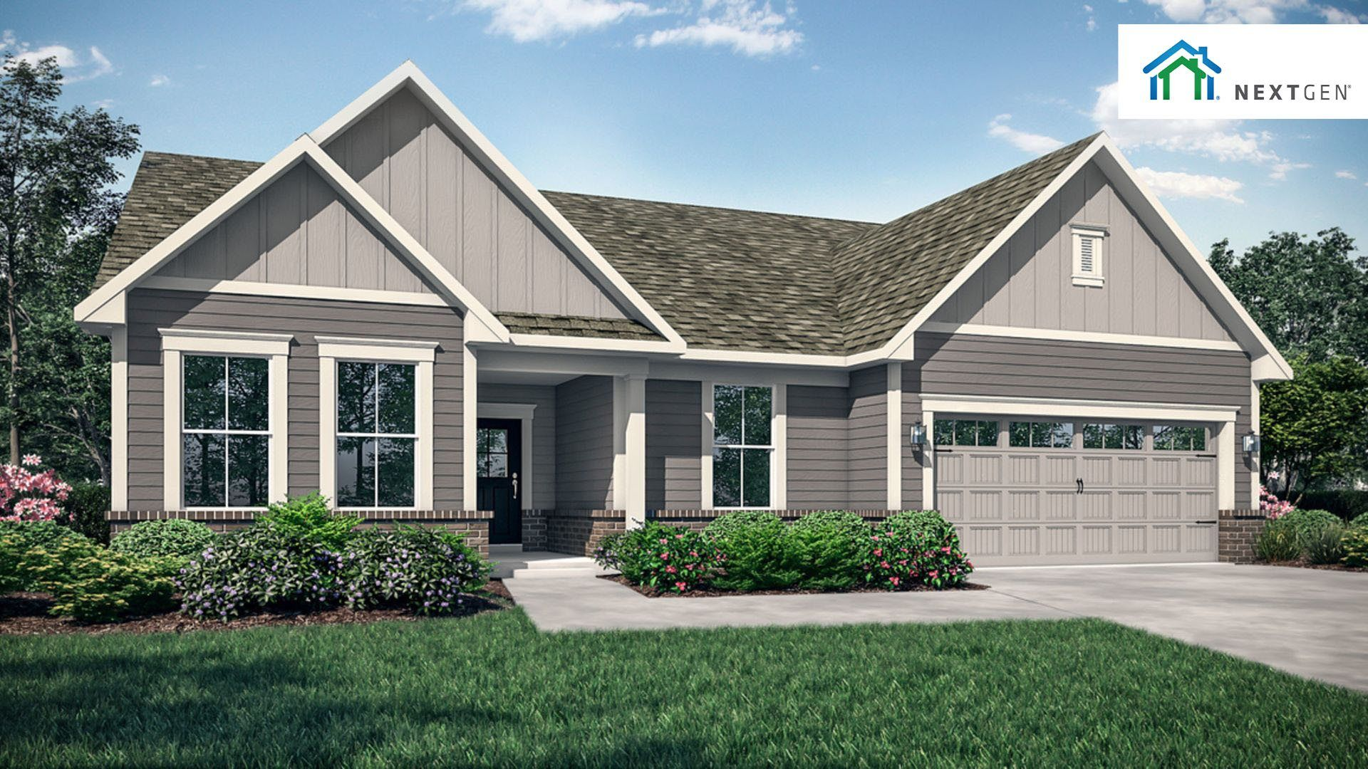 Exterior featured in the Seabrook By Lennar in Indianapolis, IN