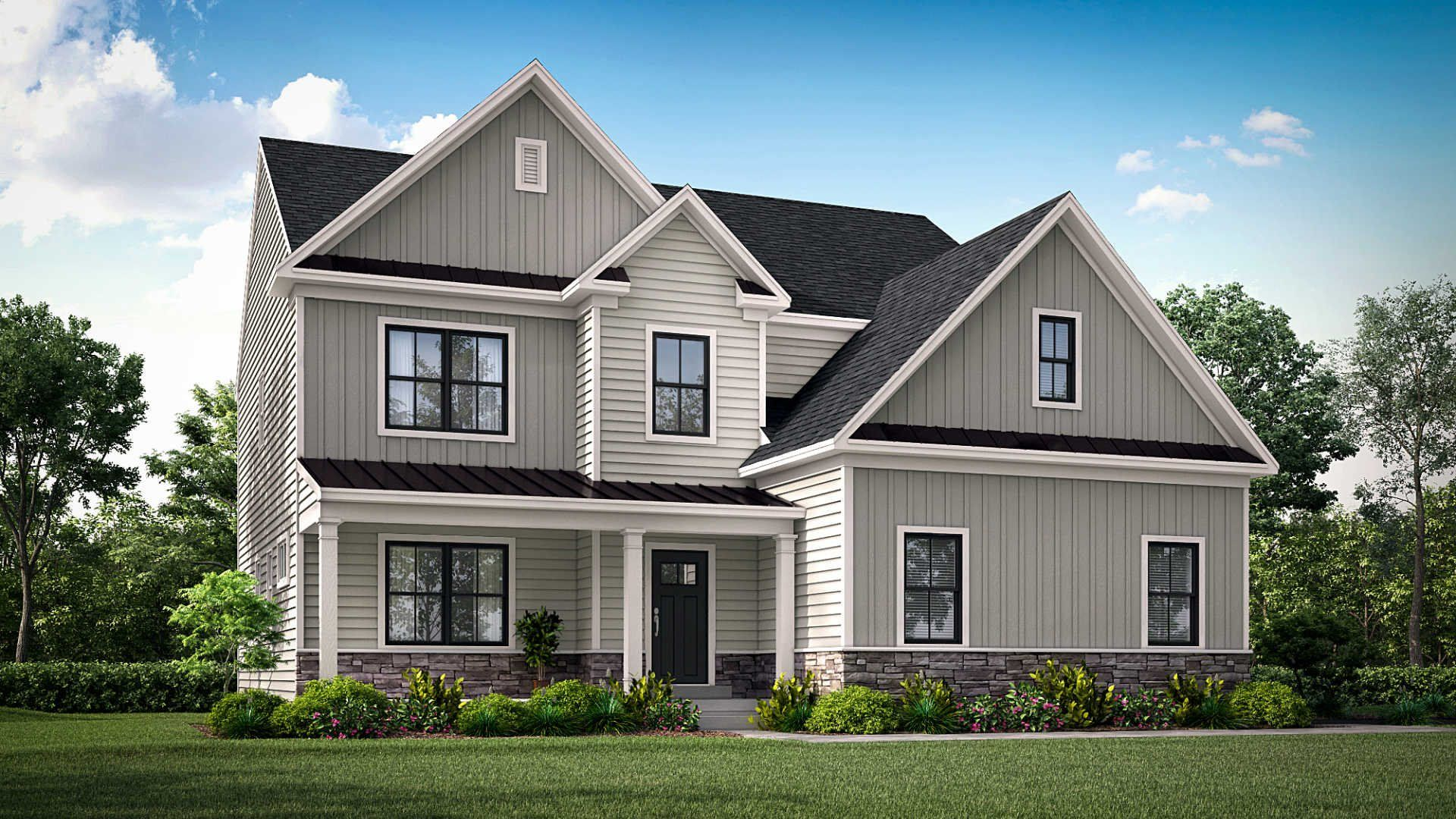 Exterior featured in the Bradford By Lennar in Philadelphia, PA