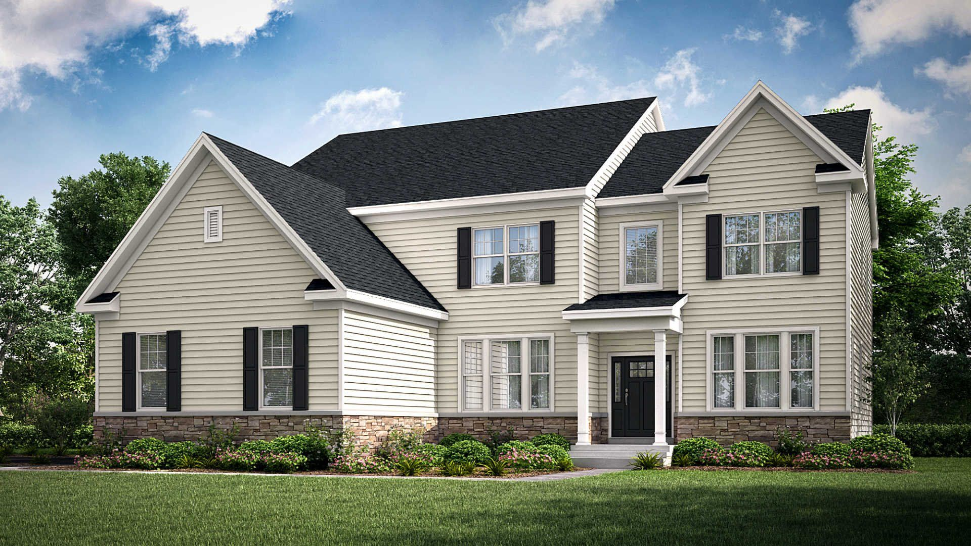 Exterior featured in the Sullivan By Lennar in Philadelphia, PA