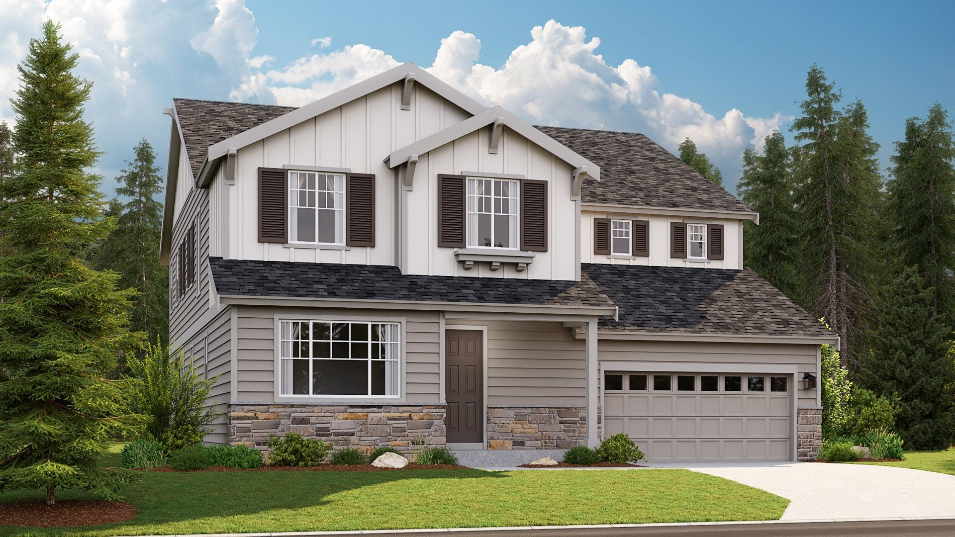 Exterior featured in the Roslyn By Lennar in Seattle-Bellevue, WA