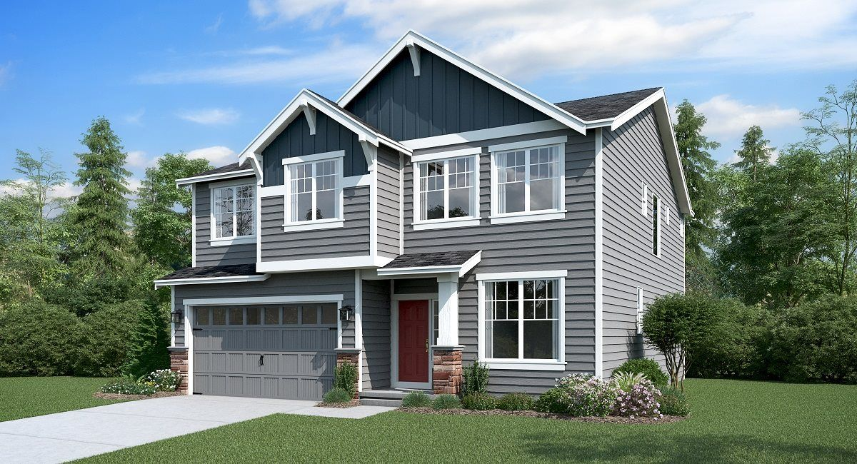 'Sunrise - The Crossings' by Lennar - Seattle Homebuilding in Tacoma