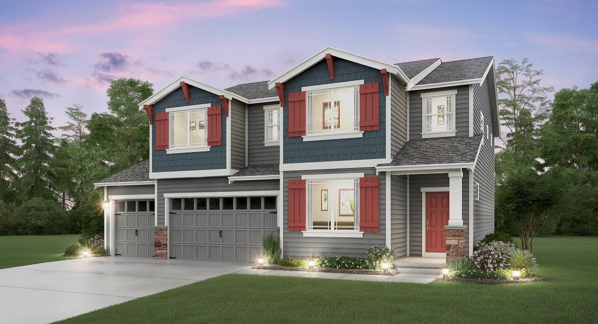 Exterior featured in the Stevenson 3-Car By Lennar in Tacoma, WA