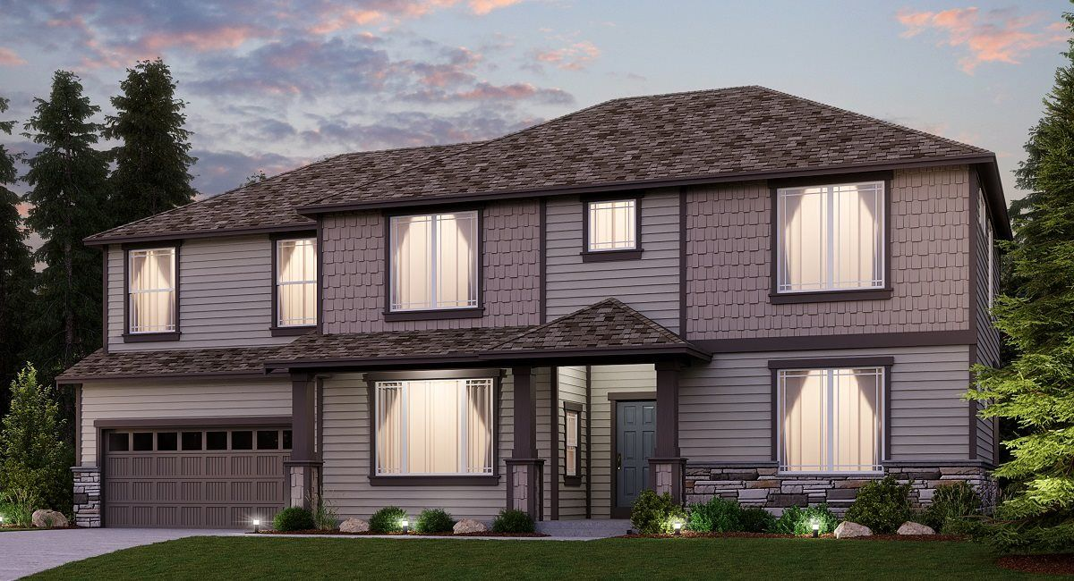 Exterior featured in the Hawthorn By Lennar in Tacoma, WA