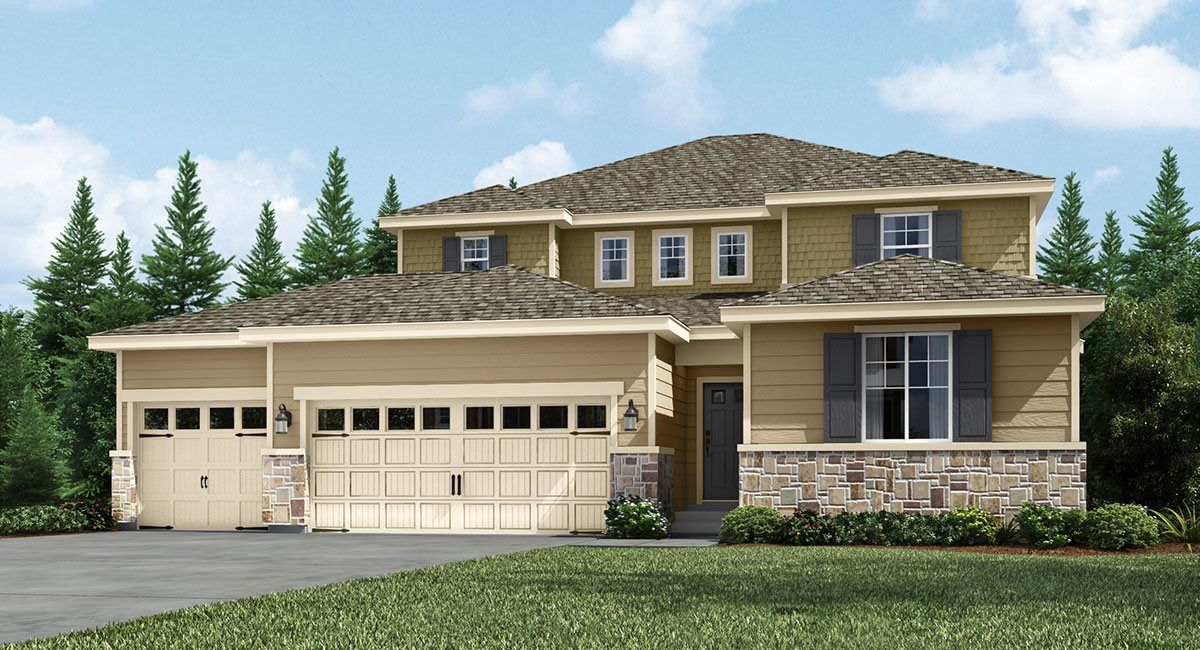 Exterior featured in the Bainbridge 4-Car By Lennar in Tacoma, WA