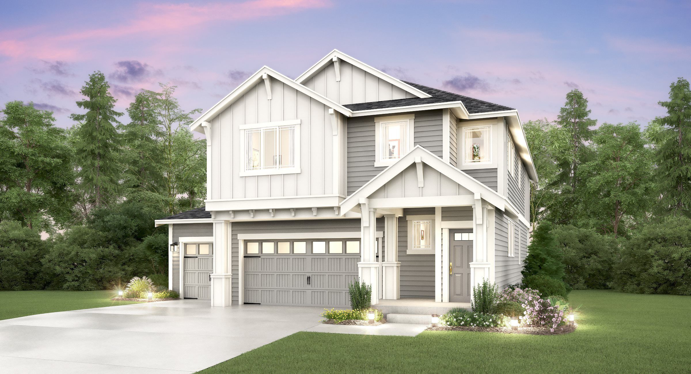 Exterior featured in the Magnolia II By Lennar in Tacoma, WA
