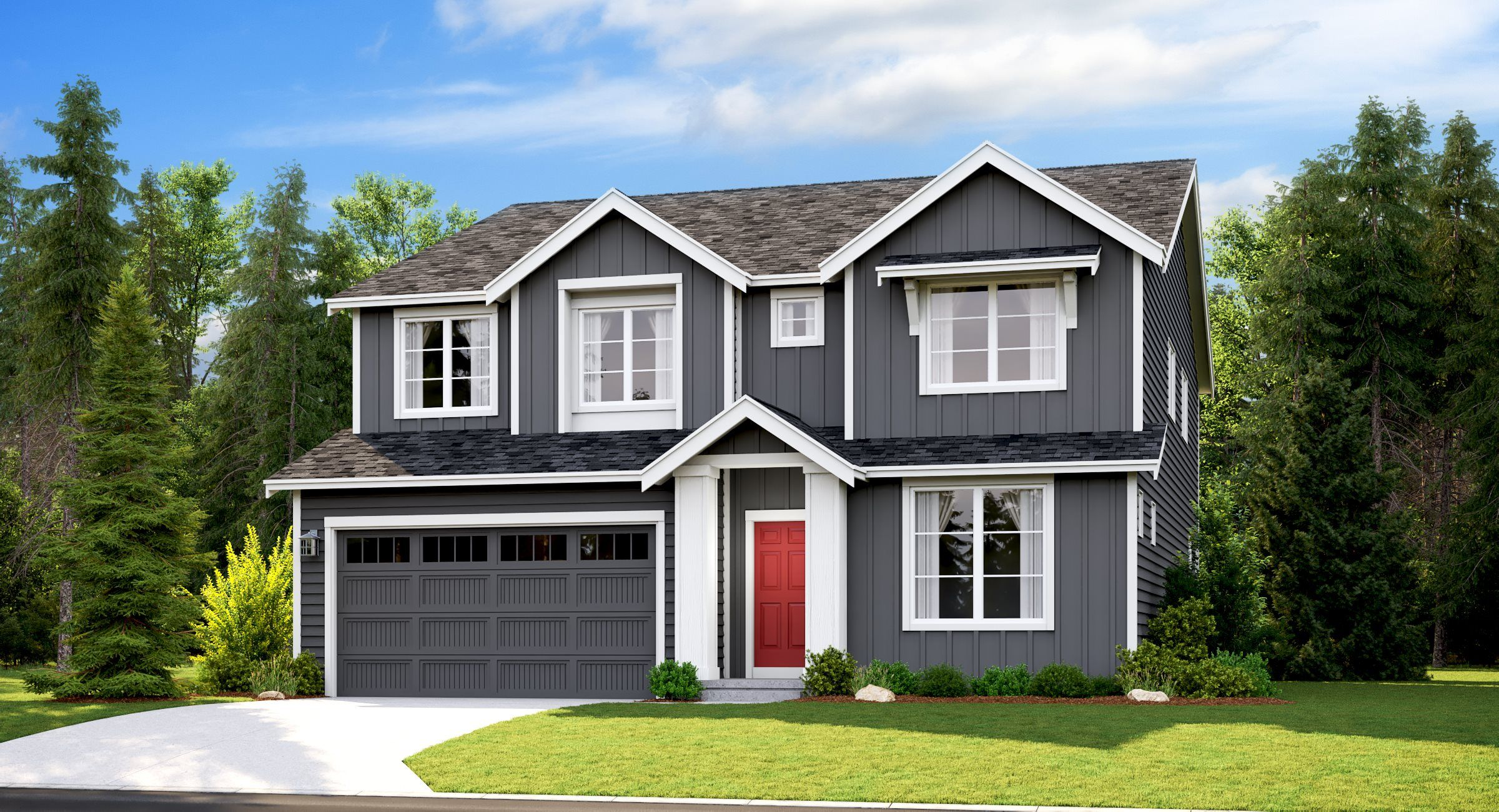 Exterior featured in the Meridian By Lennar in Tacoma, WA
