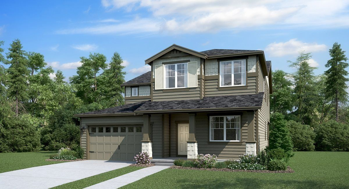 Exterior featured in the Gregory By Lennar in Tacoma, WA