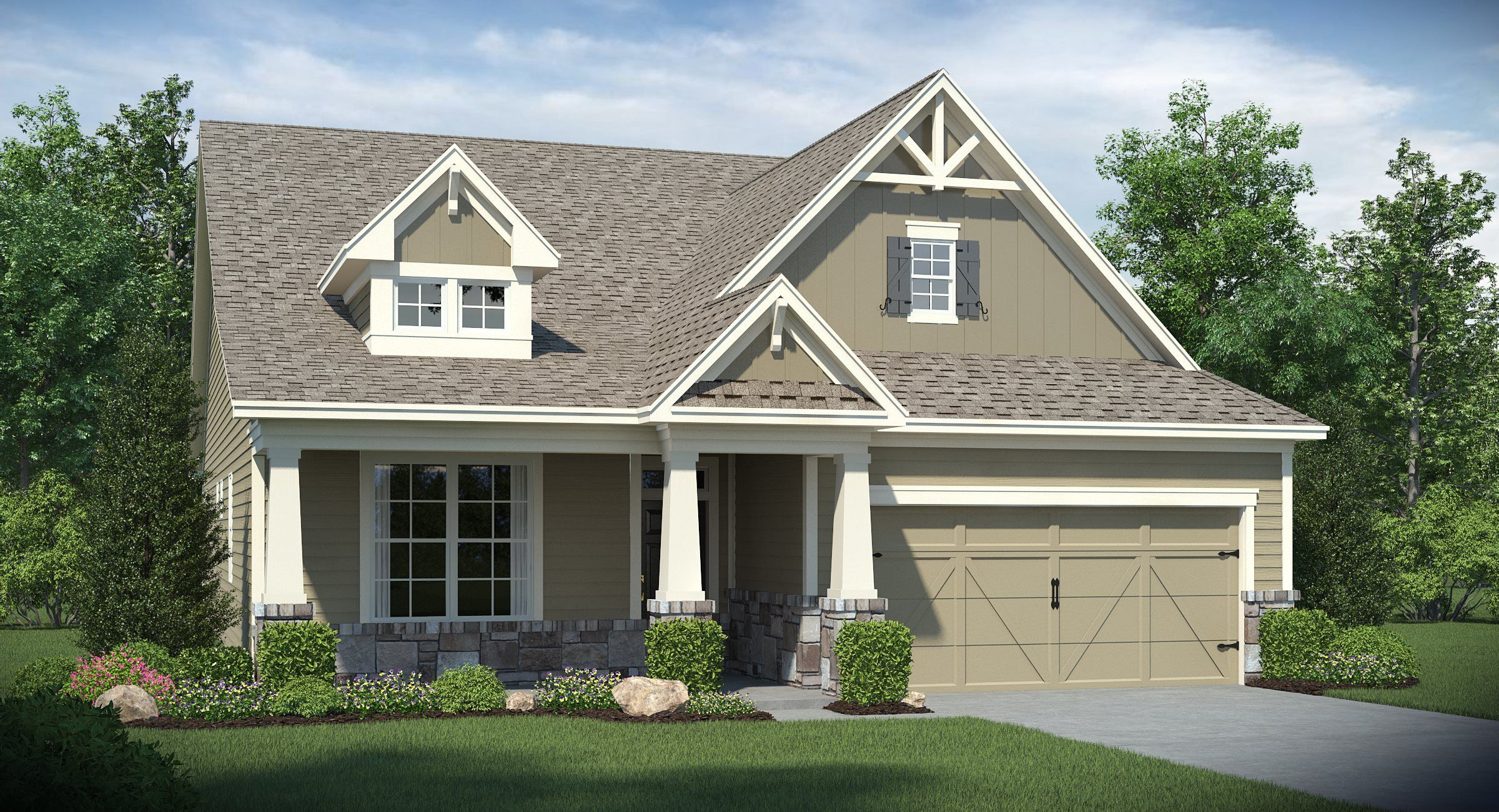 Exterior featured in the Brunswick By Lennar in Atlanta, GA