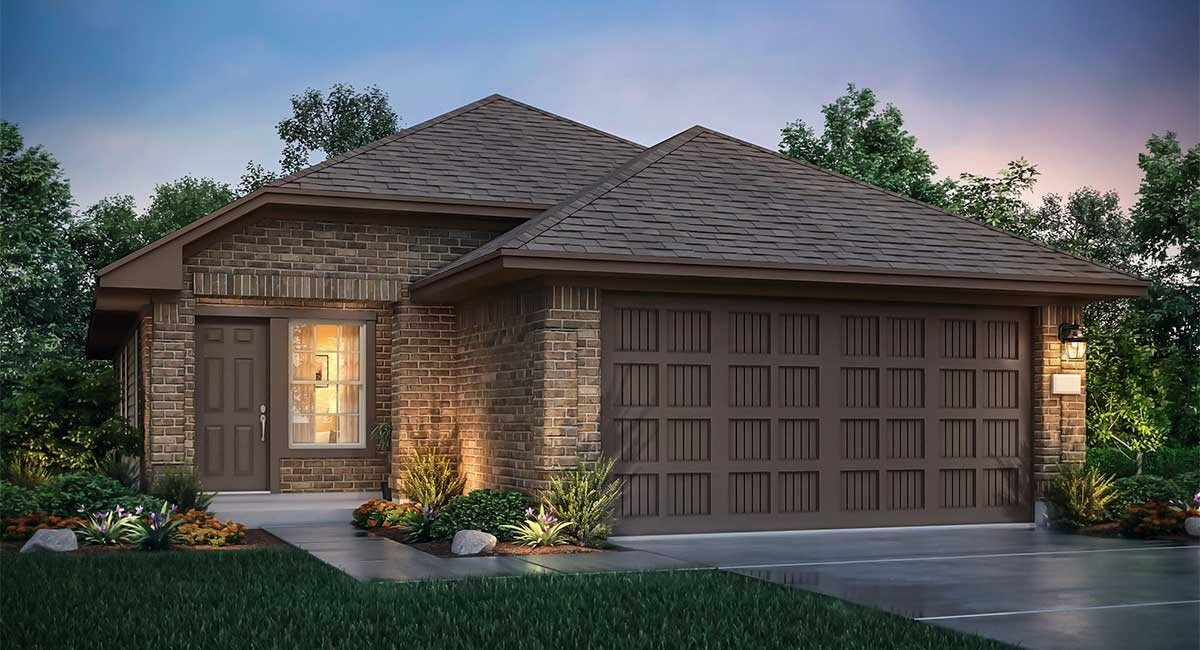 Exterior featured in the La Vista By nuHome in Houston, TX