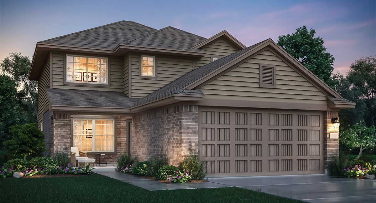 Exterior featured in the Santa Cruz By nuHome in Houston, TX