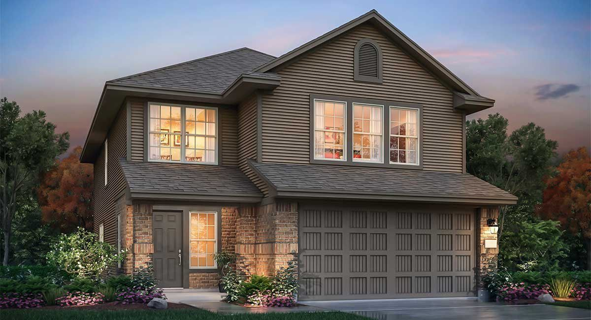 Exterior featured in the La Mirada By nuHome in Houston, TX