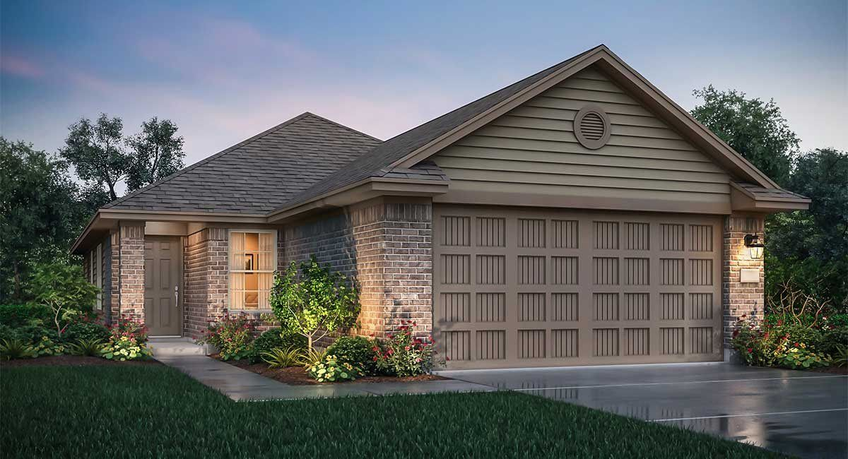 Exterior featured in the San Marcos By nuHome in Houston, TX