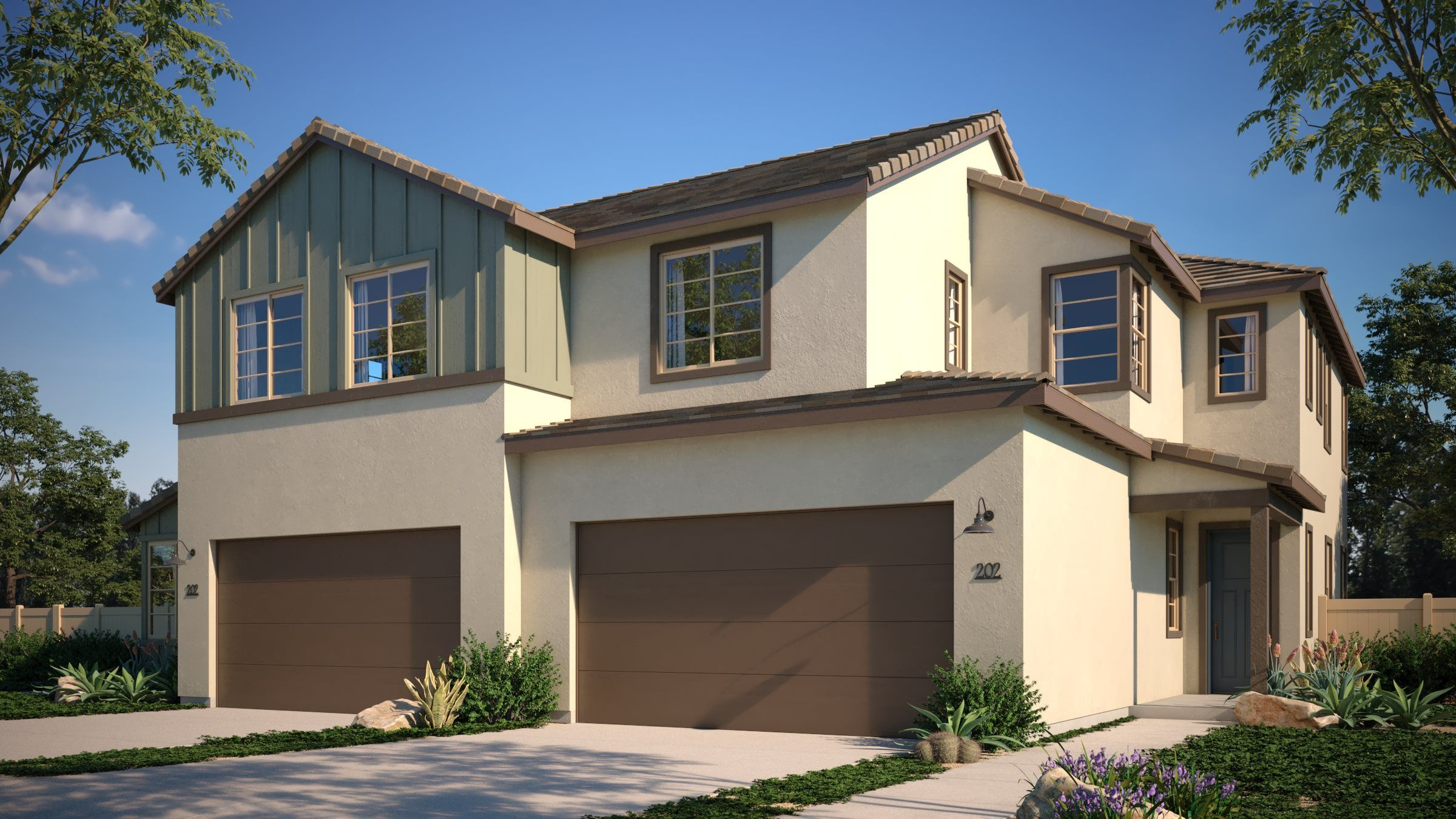 Exterior featured in the Residence 2 By Lennar in San Diego, CA