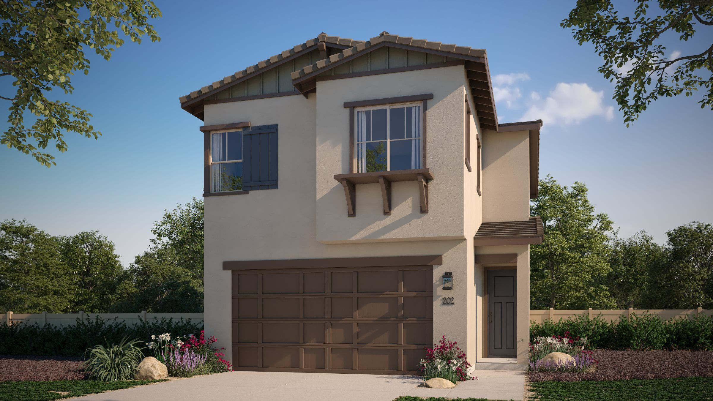 Exterior featured in the Residence 3 By Lennar in San Diego, CA