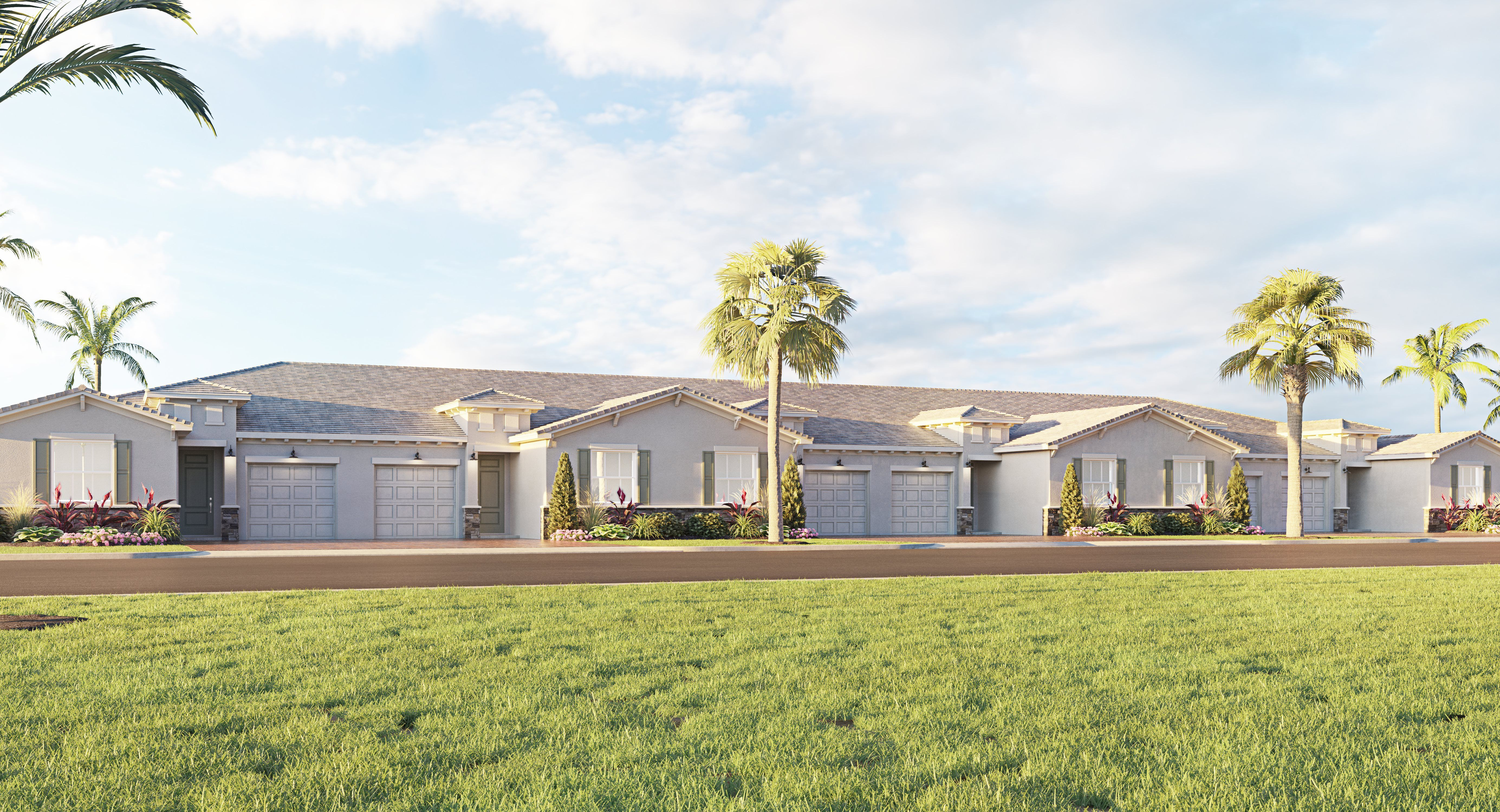 Exterior featured in the COSMOS By Lennar in Palm Beach County, FL