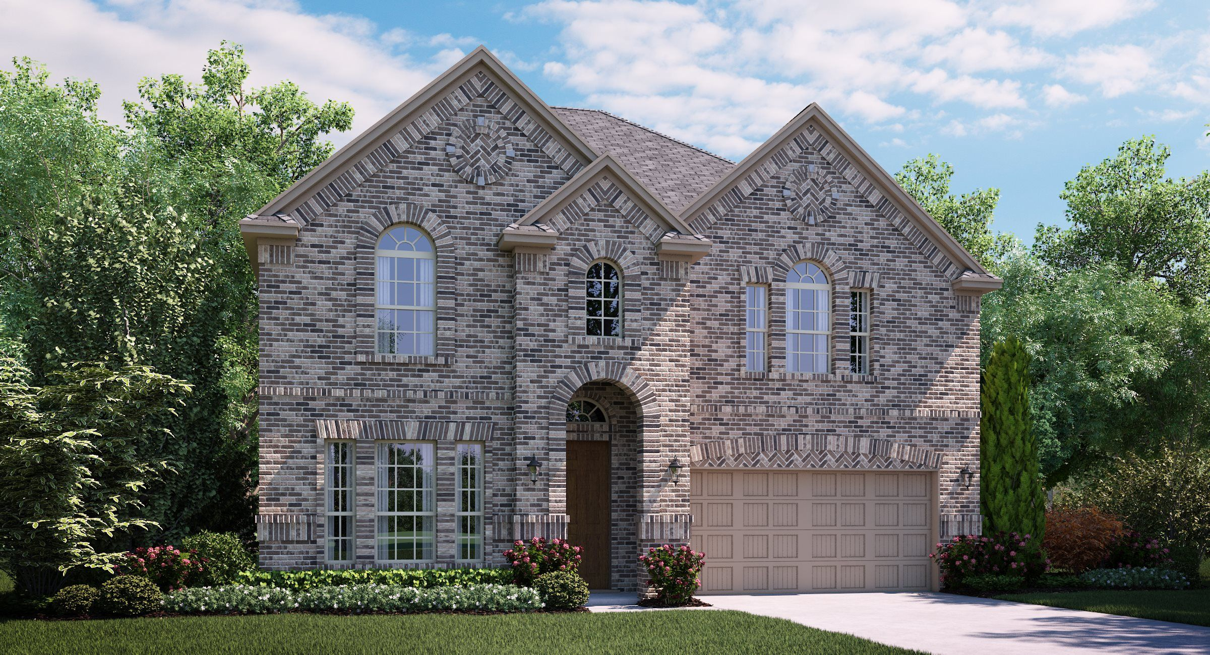 Exterior featured in the Bryson By Village Builders in Dallas, TX
