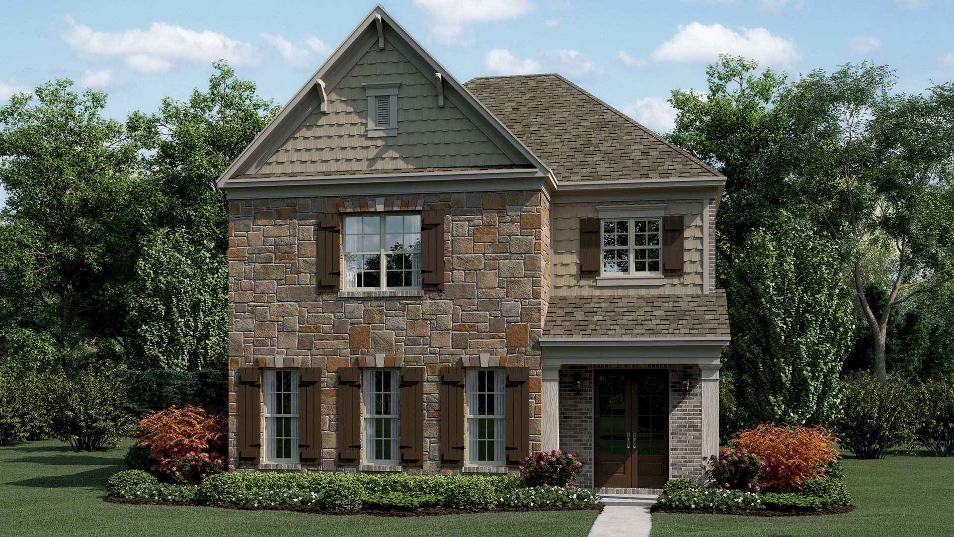 Exterior featured in the Bradley By Lennar in Atlanta, GA